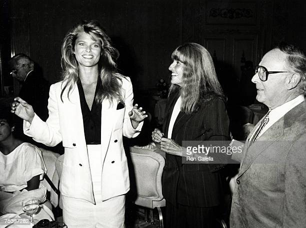 Christie Brinkley with parents Marge and Dan