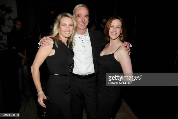 Christie Cohn Klaus Ortlieb and Holly Carbonnier attend THE CINEMA SOCIETY TOMMY HILFIGER host the after party for MANAGEMENT at Cooper Square Hotel...
