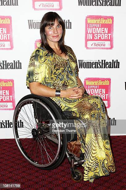 Christie Dawes Arrives At The Support Women In Sport Launch At The Sydney Cricket Ground On