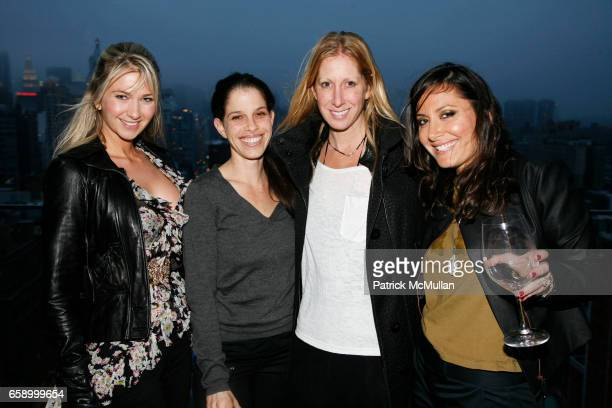 Christie Galasso Michele Wissot Heidi Kelso and Stacy Morgenstern Igel attend THE COOPER SQUARE HOTEL MINIBAR EXCLUSIVES UNVEILING at Cooper Square...