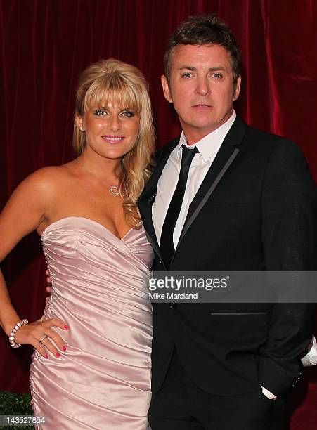 Christie Goddard and actor Shane Richie attend the British Soap Awards at The London Television Centre on April 28 2012 in London England