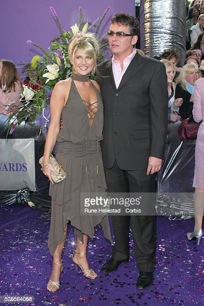 Christie Goddard and Shane Ritchie attend the British Soap Awards at BBC London