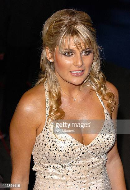 Christie Goddard during National Television Awards 2005 at Royal Albert Hall London in London United Kingdom