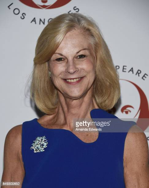 Christie Hefner arrives at the 27th Annual Simply Shakespeare benefit at the Freud Playhouse UCLA on September 18 2017 in Westwood California