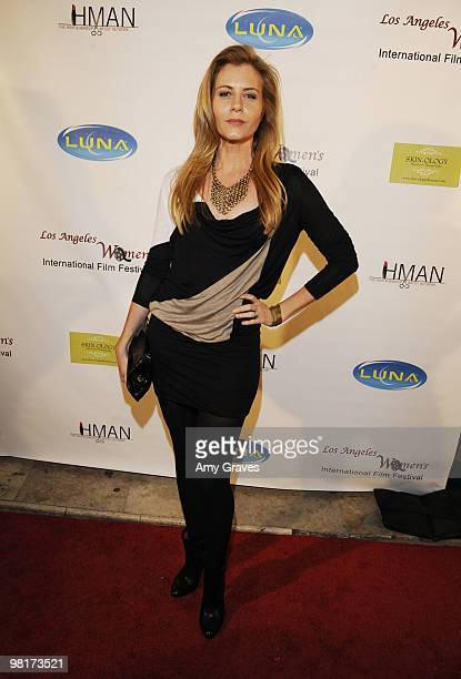 Christie Lynn Smith attends the Los Angeles Women's International Film Festival Opening Night Gala at Libertine on March 26 2010 in Los Angeles...