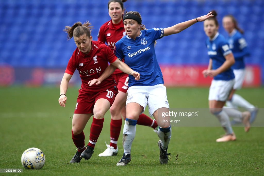 Liverpool FC Women v Everton Ladies FC - FA Continental Tyres Cup : News Photo
