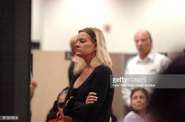 Christie Prody at the Clark County Detention Center during a visit to her boyfriend OJ Simpson