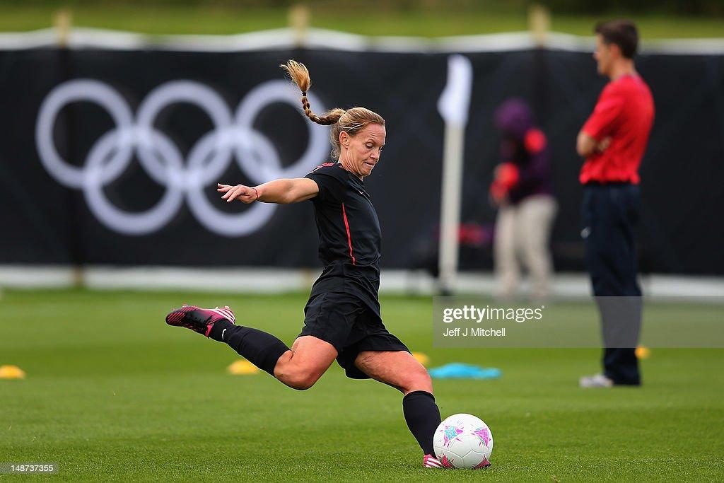 USA Olympic Football Training : News Photo