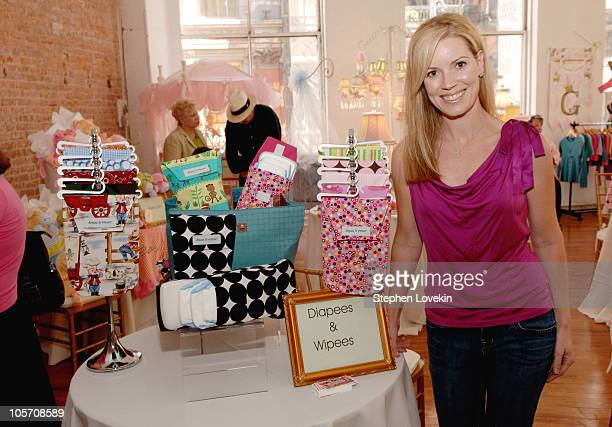 Christie Rein during Jayneoni Hosts Hollywood Baby Shower at Home Studios in New York City NY United States