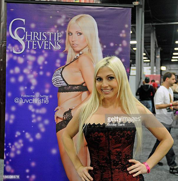 Christie Stevens attends 2012 EXXXOTICA New Jersey at New Jersey Exposition Center on November 10, 2012 in Edison, New Jersey.