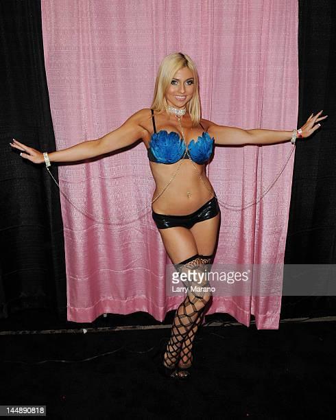 Christie Stevens attends Exxxotica Miami Beach at the Miami Beach Convention Center on May 19, 2012 in Miami Beach, Florida.