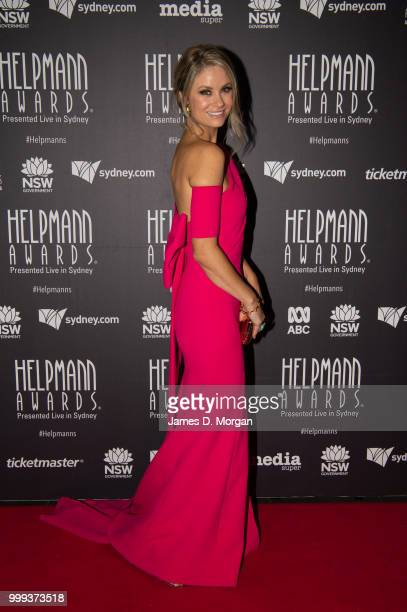 Christie Whelan Browne attends the 18th Annual Helpmann Awards Curtain Raiser on July 15 2018 in Sydney Australia The Helpmanns are accolades for...