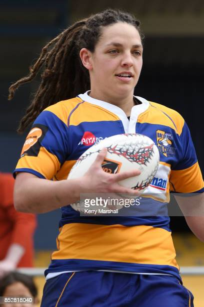 Christie Yule of Bay of Plenty before the round four Farah Palmer Cup match between Bay of Plenty and Tasman at Tauranga Domain on September 24 2017...