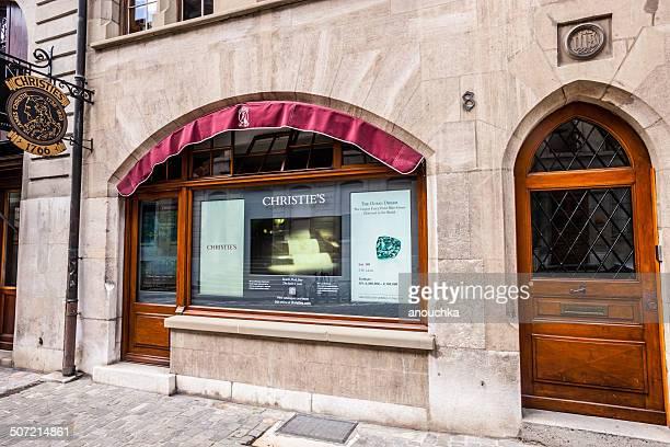 Christie's Genf Büro im historischen Stadtzentrum, Schweiz