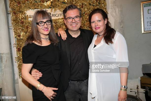 Christin Haenschke Bijou Brigitte Reinhard Maetzler and Annegret Wittmaack during the New Faces Award Style 2017 at 'The Grand' hotel on November 15...