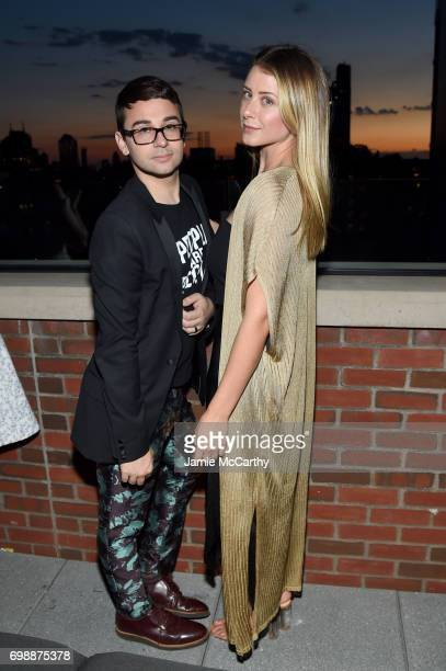 Christin Siriano and Lo Bosworth attends the amfAR generationCURE Solstice 2017 at Mr Purple on June 20 2017 in New York City