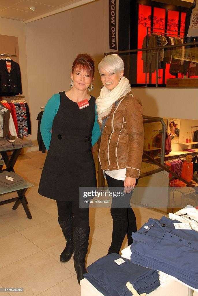 Kammann Ohz christin stark rechts mit mutter mona arbeitet im modehaus k