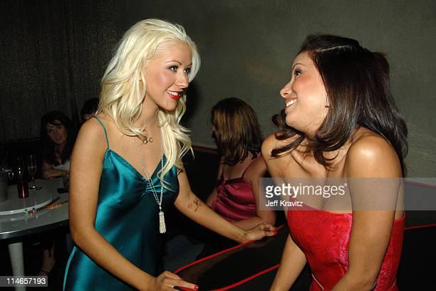 Christina Aguilera and Eva Longoria **Exclusive**
