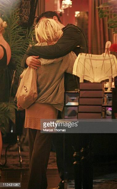 Christina Aguilera and husband Jordan Bratman during Christina Aguilera and Jordan Bratman Sighting in New York City June 5 2007 in New York City New...