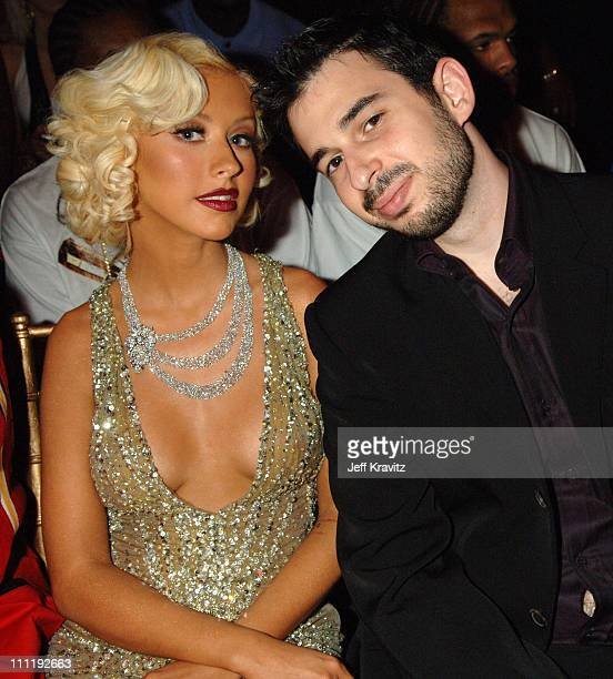 Christina Aguilera and husband Jordan during 2006 MTV Video Music Awards Audience at Radio City Music Hall in New York City New York United States