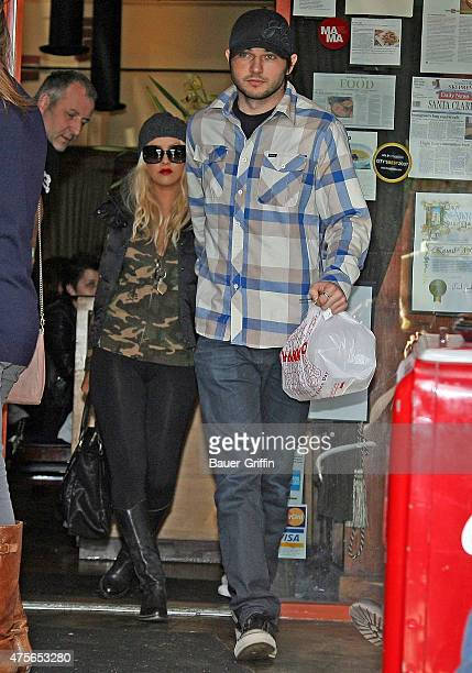 Christina Aguilera and Matthew Rutler are seen on December 31 2010 in Beverly Hills California