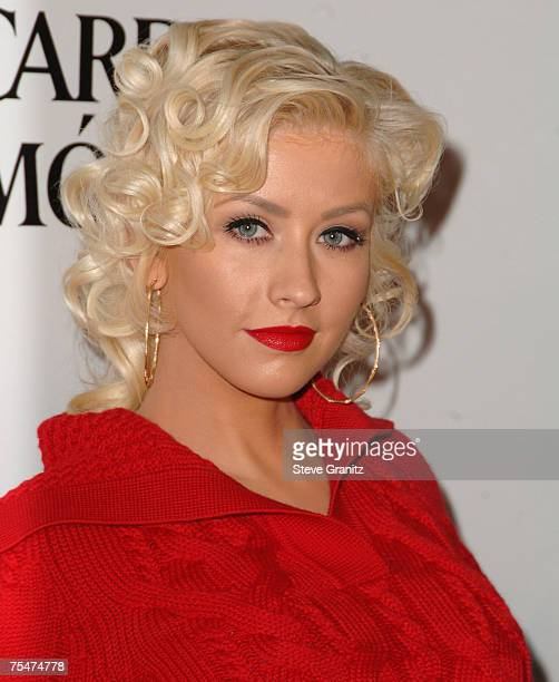 Christina Aguilera at the Miauhaus Studios in Los Angeles California