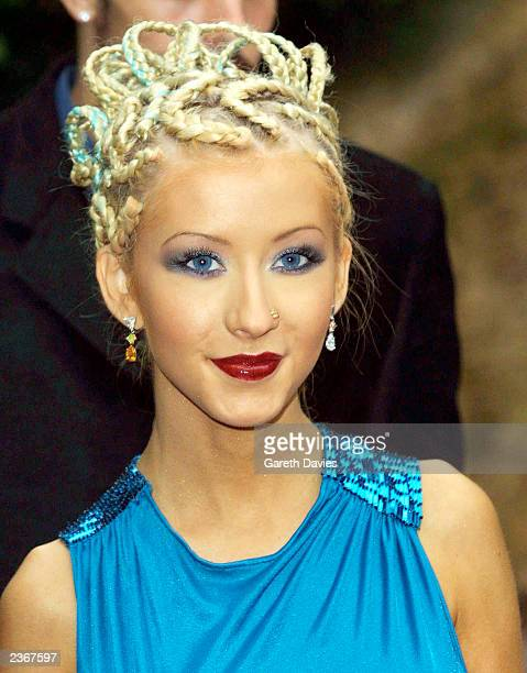 Christina Aguilera at the World Music Awards in Monte Carlo Photo by Dave Hogan/Getty Images