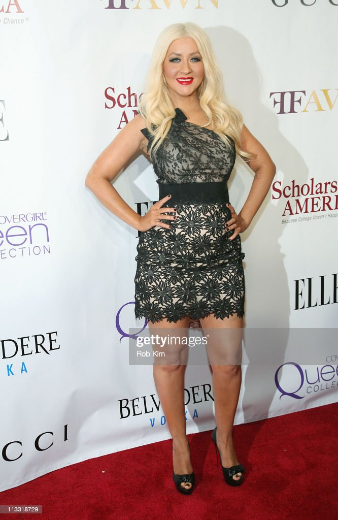Christina Aguilera attends the 2nd Annual Mary J. Blige Honors Concert at Hammerstein Ballroom on May 1, 2011 in New York City.