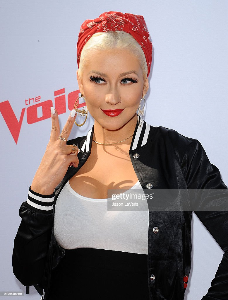 """The Voice"" Karaoke For Charity - Arrivals : News Photo"