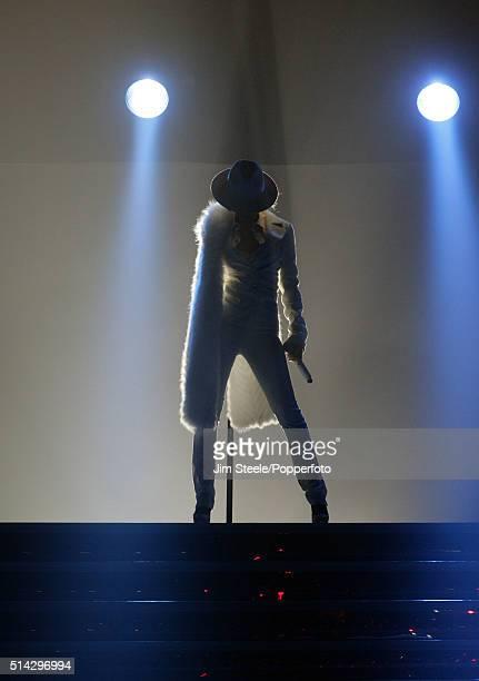 Christina Aguilera 'Back To Basics' In Concert Tour, Wembley, London, 29th November 2006.