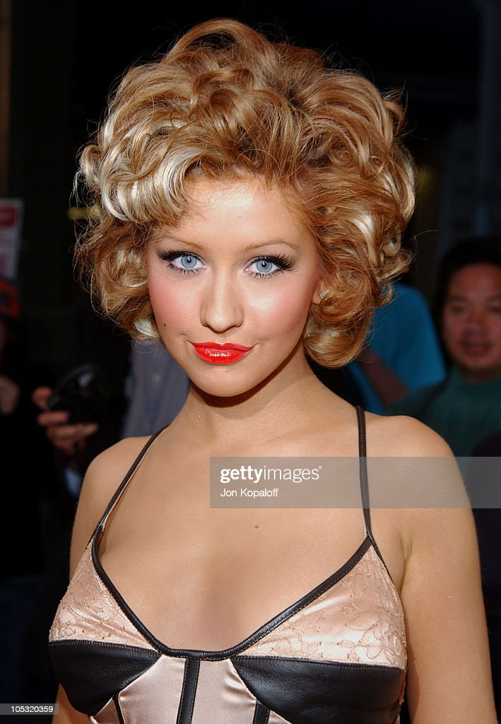 Christina Aguilera during 13th Annual Music Video Production Association Awards - Arrivals at Orpheum Theatre in Los Angeles, California, United States.