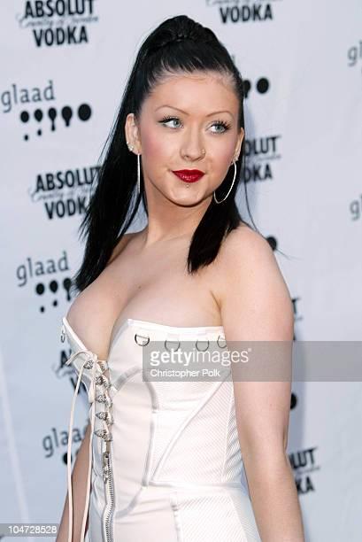 Christina Aguilera during 14th Annual GLAAD Media Awards Los Angeles at Kodak Theatre in Hollywood California United States