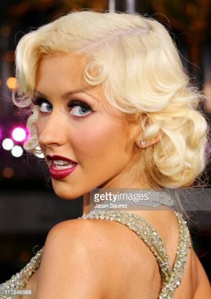 Christina Aguilera during 2006 MTV Video Music Awards MTVcom Red Carpet at Radio City Music Hall in New York City New York United States