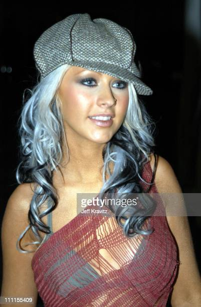 Christina Aguilera during The 30th Annual American Music Awards Backstage Party at Shrine Auditorium in Los Angeles California United States