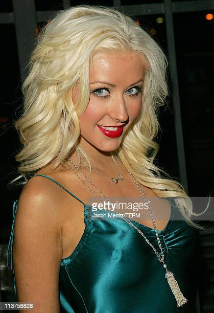 Christina Aguilera during Us Weekly Young Hollywood Party Arrivals in Hollywood California United States