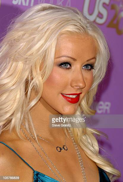 Christina Aguilera during US Weekly's Young Hollywood Hot 20 in Los Angeles California United States