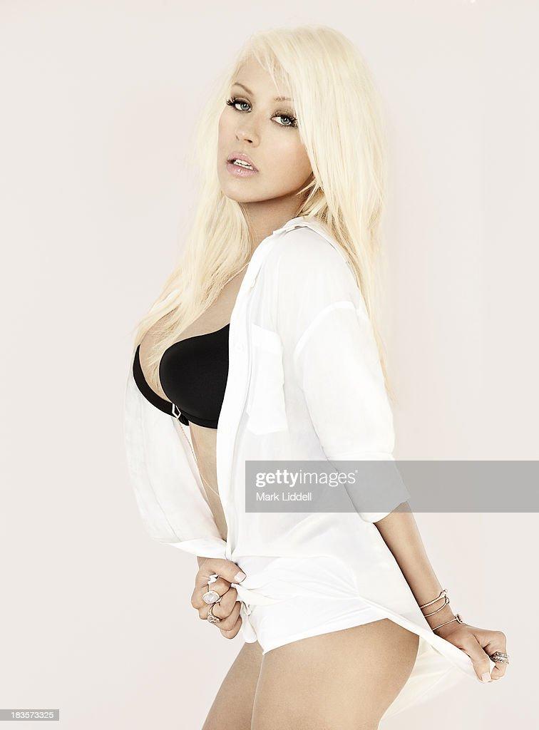 Christina Aguilera, Maxim, October 1, 2013