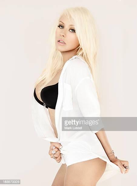 Christina Aguilera is photographed for Maxim Magazine on July 22 2013 in Malibu California PUBLISHED IMAGE