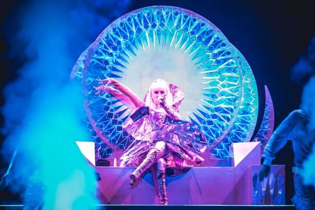 DEU: Christina Aguilera Performs In Berlin