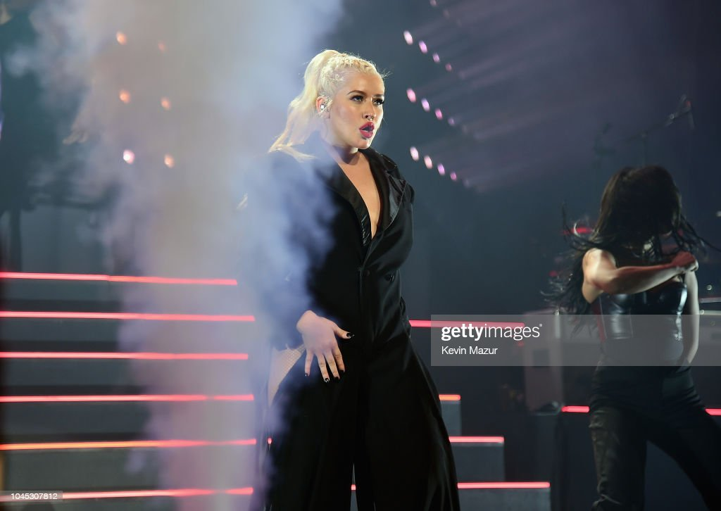 Christina Aguilera: The Liberation Tour - Radio City Music Hall, New York : News Photo