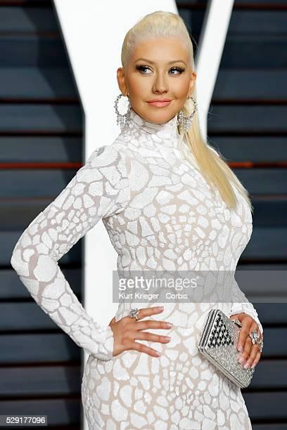 Christina Aguilera Vanity Fair Oscar Party 2015 Beverly Hills CA February 22 2015 ��Kurt Krieger
