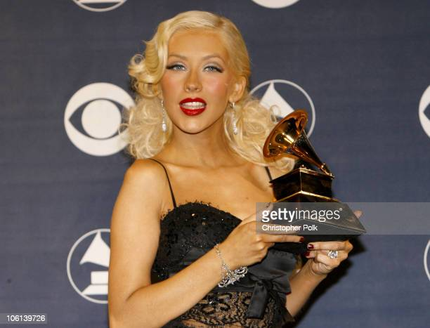 Christina Aguilera winner Best Female Pop Vocal Performance for 'Ain't No Other Man'