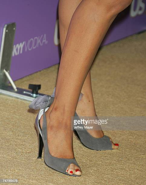 Christina Aguilera's shoes in Hollywood California