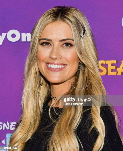 "Christina Anstead attends 2019 Disney On Ice ""Mickey's Search Party"" at Staples Center on December 13, 2019 in Los Angeles, California."