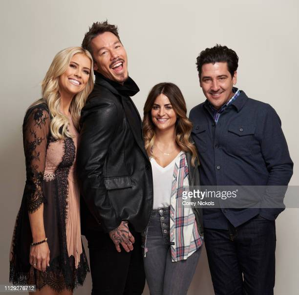 Christina Anstead of HGTV's 'Christina on the Coast' David Bromstad of HGTV's My Lottery Dream Home' Alison Victoria of HGTV's 'Windy City Rehab' and...