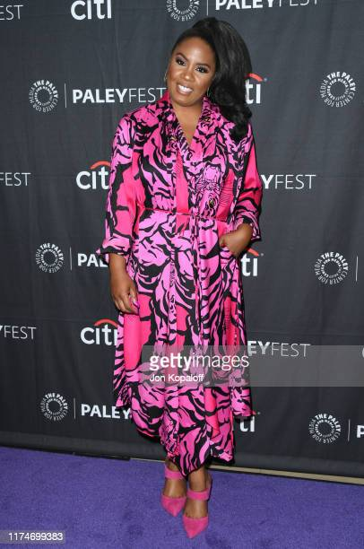 Christina Anthony attends The Paley Center For Media's 2019 PaleyFest Fall TV Previews - ABC at The Paley Center for Media on September 14, 2019 in...