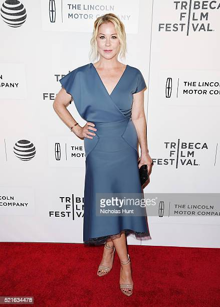 Christina Appelgate attends the Youth In Oregon Premiere during the 2016 Tribeca Film Festival at John Zuccotti Theater at BMCC Tribeca Performing...