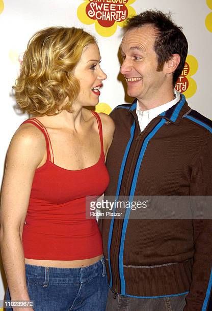 Christina Applegate and Denis O'Hare during Christina Applegate Rehearses for her Broadway Debut in 'Sweet Charity' January 19 2005 at The New 42nd...