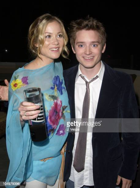 Christina Applegate and Elijah Wood during Movieline's 4th Annual Young Hollywood Awards Inside at The Highlands in Hollywood California United States