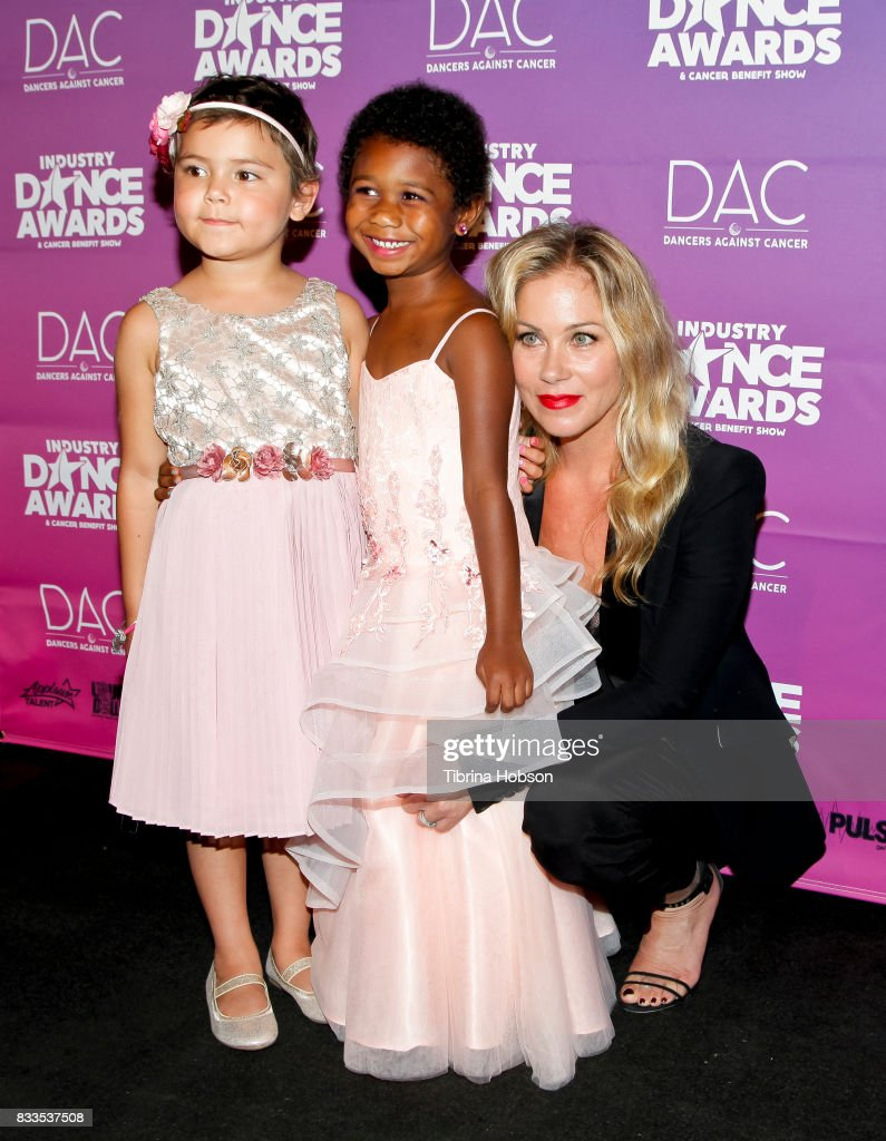 Christina Applegate (R) and Guests attend the 2017 Industry Dance Awards and Cancer Benefit Show at Avalon on August 16, 2017 in Hollywood, California.